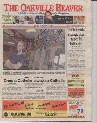 Oakville Beaver, 18 Feb 2000