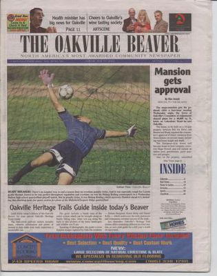 Oakville Beaver, 17 May 2002