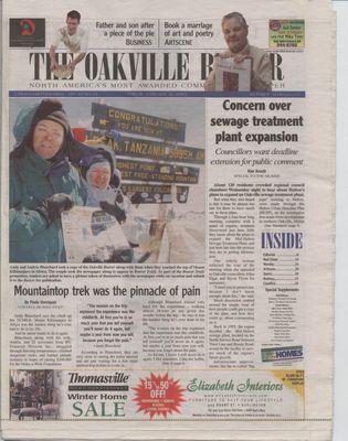 Oakville Beaver, 31 Jan 2003