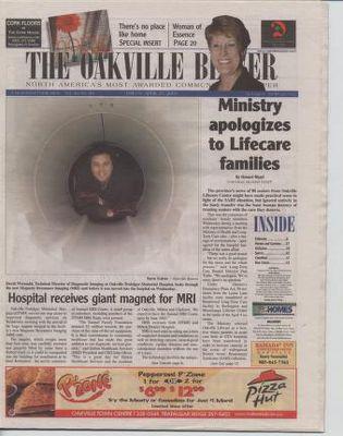 Oakville Beaver, 25 Apr 2003