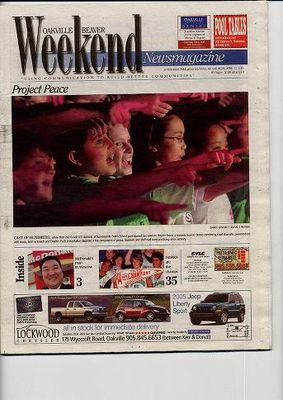 Oakville Beaver, 23 Apr 2005