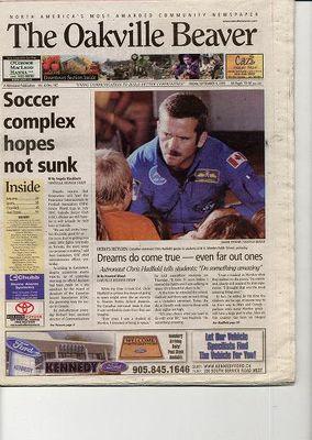 Oakville Beaver, 9 Sep 2005