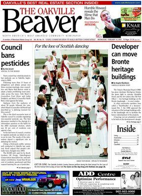 Oakville Beaver, 14 Feb 2007