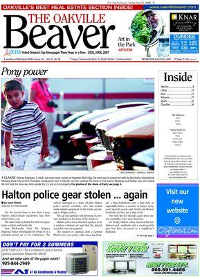 Oakville Beaver, 6 Aug 2008