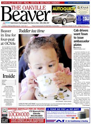 Oakville Beaver, 18 Feb 2009