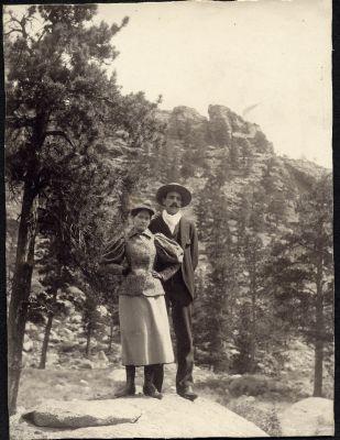 Emelda and John on Wedding trip