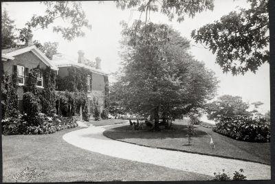 Erchless Estate driveway