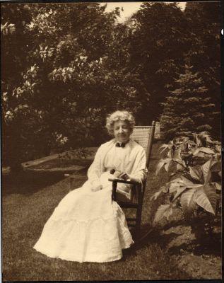 Flora Matilda (Mrs. R.K.) Chisholm at Erchless