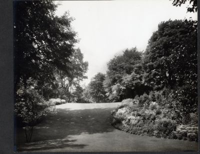 Erchless grounds about 1935