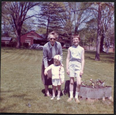 Hazel, Eric and Ann