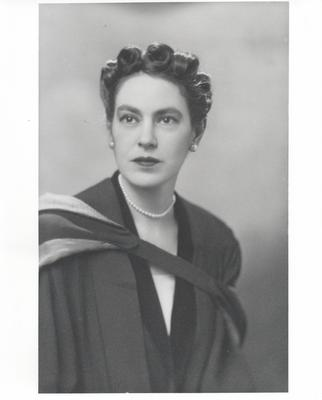 Juliet Chisholm's graduation picture from medical school