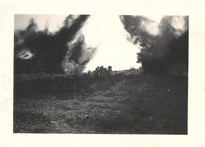 Military training for soldiers at Petawawa, Ontario, before being sent overseas