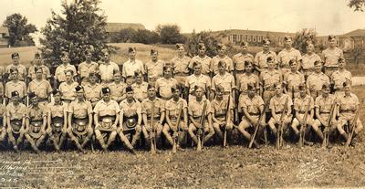 Guard of Honour for Lieutenant-Governor Albert Edward Matthews, Opening of Legislature, July 1945.