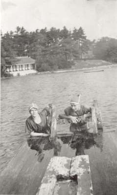 Unknown swimmers