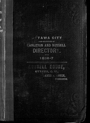 1866-67 Ottawa City Directory