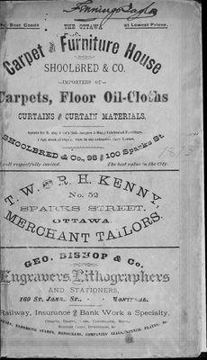 1878 Ottawa City Directory