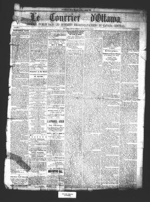 Le Courrier d'Ottawa, 3 Apr 1861