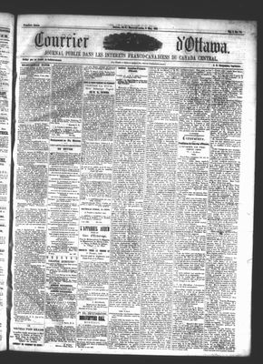 Le Courrier d'Ottawa, 8 May 1861