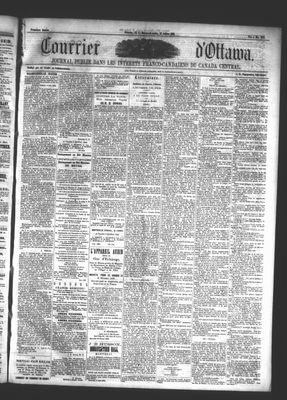 Le Courrier d'Ottawa, 17 Jul 1861
