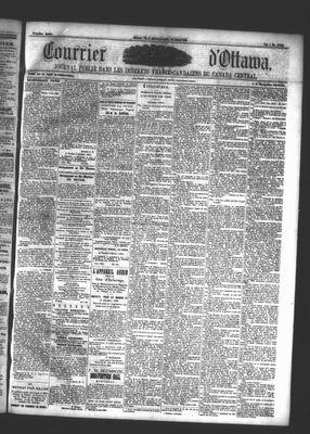 Le Courrier d'Ottawa, 31 Jul 1861