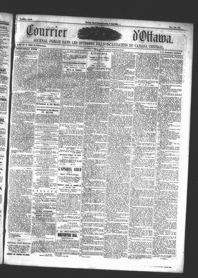 Le Courrier d'Ottawa, 7 Aug 1861