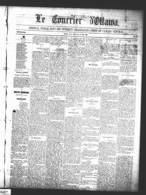 Le Courrier d'Ottawa, 19 Jun 1862
