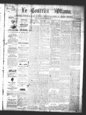 Le Courrier d'Ottawa, 29 Nov 1862