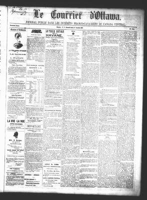 Le Courrier d'Ottawa, 17 Jan 1863