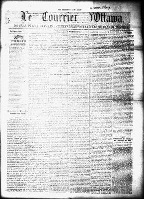 Le Courrier d'Ottawa, 4 Nov 1864