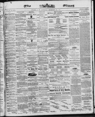 Ottawa Times (1865), 14 Dec 1867