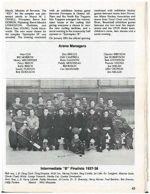 Powassan 15th Anniversary 1905-1980