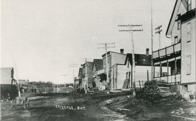 Postcard of Emsdale, Ontario