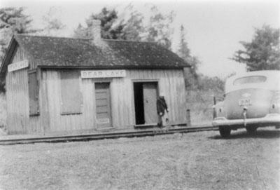Bear Lake Railroad Station, circa 1920