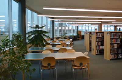 Library work tables