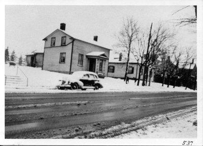 Photograph of the old Presbyterian Church Manse