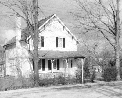 Photograph of the former Asa B. Wilson house