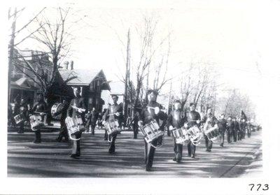 Parade on Yonge Street