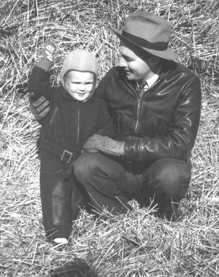 Bruce Langstaff aged two