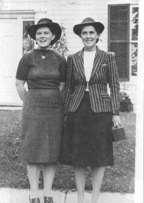 Two grand-daughters of Dr. Lewis Langstaff