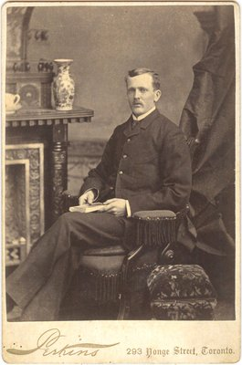 Cabinet photo of unidentified man
