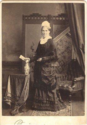 Photograph of an elderly woman