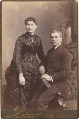 Photograph of Ab and Jennie Helmkay