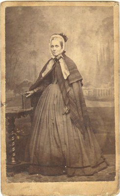 Cabinet photograph of an elderly woman