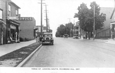 Photograph of Yonge Street looking south