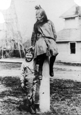 Photograph of James and Carroll Langstaff