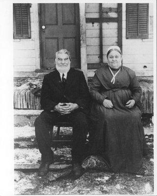 Jacob Eyer and his wife Elizabeth Heise