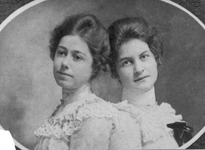 Isabel and Lillian Carroll