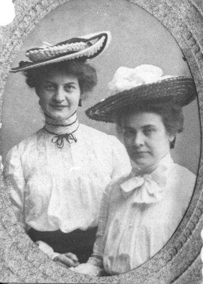 Lillian Carroll and Edith Beatty