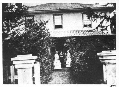 "Early view of ""Richmond Villa"""