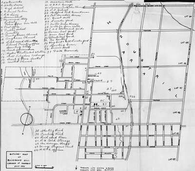 Map of Richmond Hill
